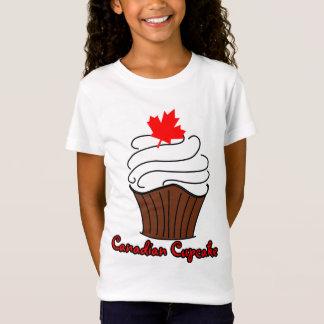 Girls Canadian Cupcake Tee