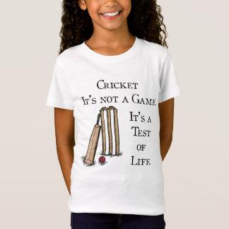 Girls Cricket T-Shirt
