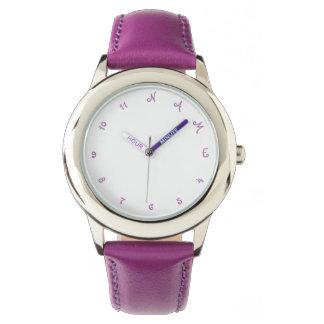 Girls Custom Personalized Name Kids Wrist Watch