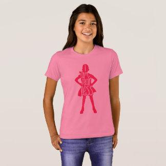Girls Fearless Girl, I Am Fearless Shirt