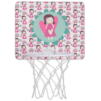 Girls Going Places Mini Basketball Hoop
