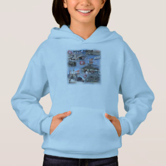 Girls Hooded Sweatshirt from Cape Town