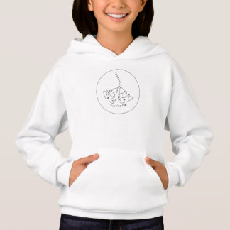 Girls hoodie sweatshirt