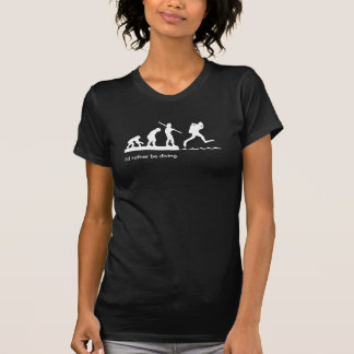 "Girl's ""I'd rather be diving"" SCUBA diving T-shirt"