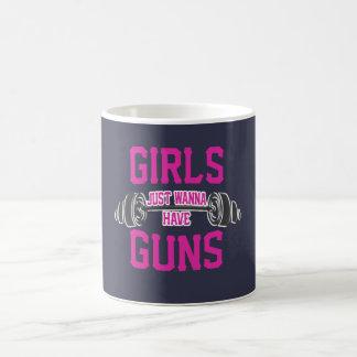 Girls just wanna have guns coffee mug