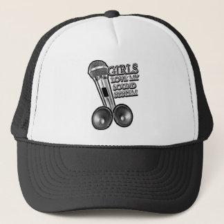 Girls Love my SOUND SYSTEM Trucker Hat