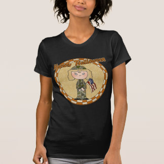 Girls Military Soldier Shirts