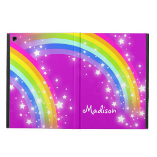 Girls name rainbow mauve ipad air powis case iPad air covers