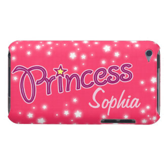 Girls named princess star graphic ipod case iPod touch Case-Mate case