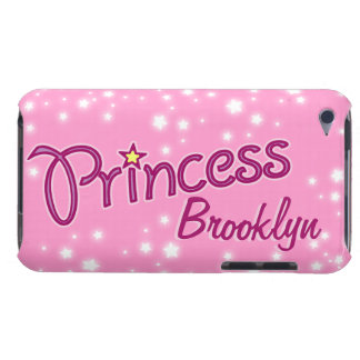 Girls named princess star pink purple ipod case iPod Case-Mate cases