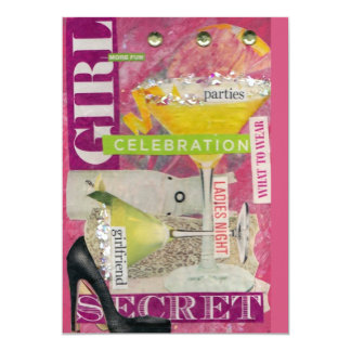 Girl's Night Out Invitation/Card Card