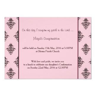 Girl's party invitation
