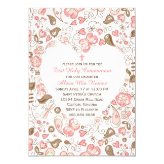 Browse Zazzle First Communion invitations and customise with your own text, photos or designs.