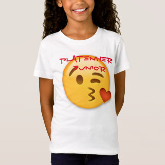 Girls Platenher Junior Emoji Tshirt