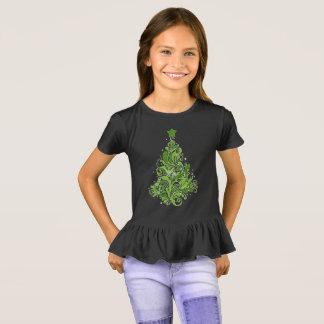 Girls' Ruffle T-Shirt