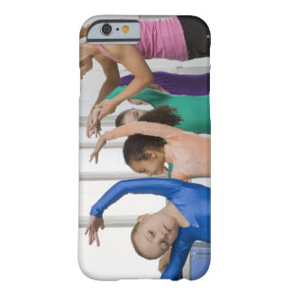 Girls stretching in gymnastics class barely there iPhone 6 case