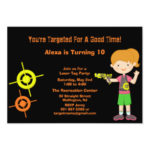 Laser Tag Birthday Gifts On Zazzle NZ