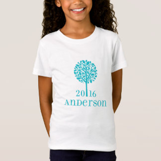 Girls Turquoise Anderson T shirt