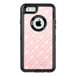 Girly Blush Pink Arrows Pattern OtterBox iPhone 6/6s Case