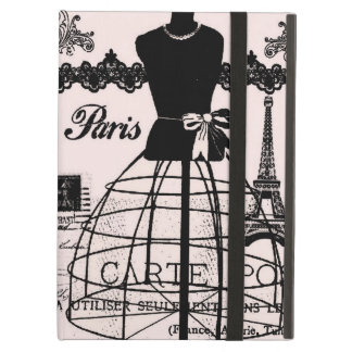 Girly Designer Inspired Paris Case For iPad Air
