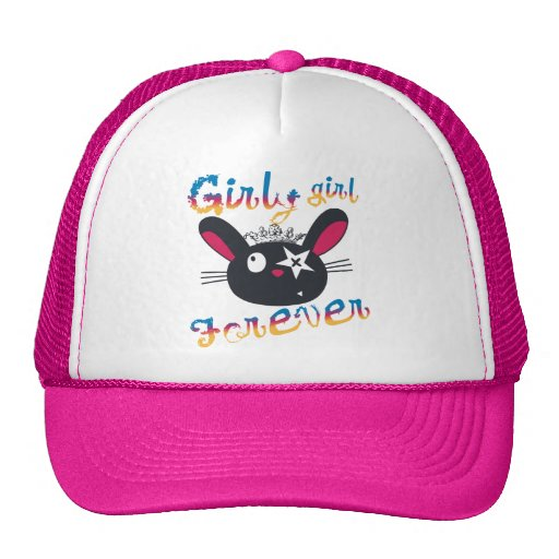 Girly Girls Forever Kids Hat