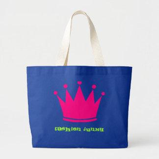Girly Junky Jumbo Tote Bag