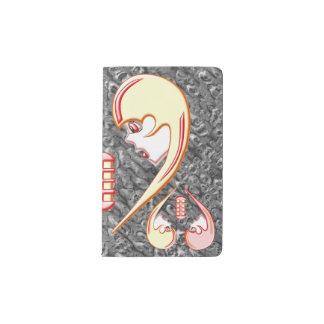 Girly Karaoke Love Heart Pocket Moleskine Notebook