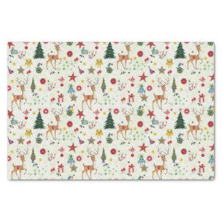 Girly Merry Christmas Deer | Tissue Paper