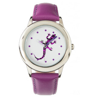 Girly Nature Gecko Watch