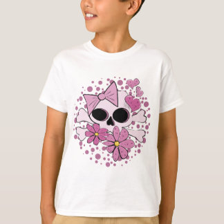 Girly Punk Skull T-Shirt