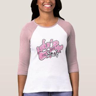 Girly Rock n' Roll Skull Shirts