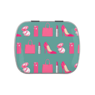 Girly things candy tin