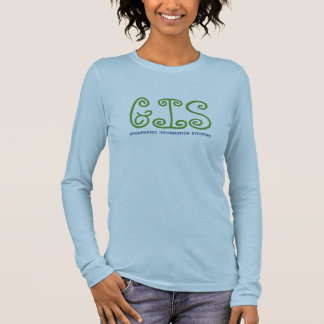 GIS, geographic information system Long Sleeve T-Shirt