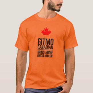 GITMO (Guantanamo) CANADIAN - Customized T-Shirt