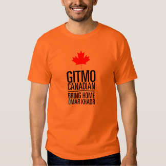 GITMO (Guantanamo) CANADIAN Shirts