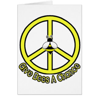 give bees a chance card