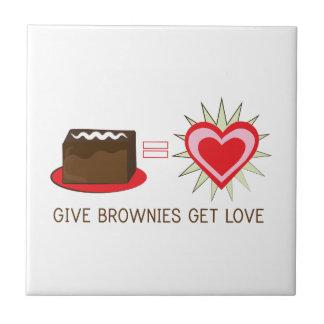 Give Brownies Get Love Tiles