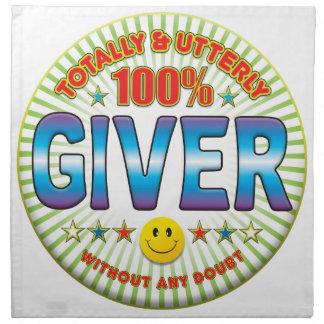 Giver Totally Printed Napkins