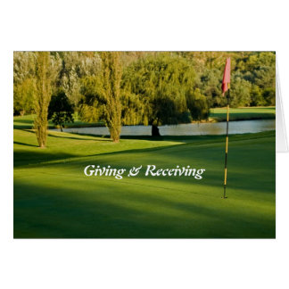 Giving & Receiving Card