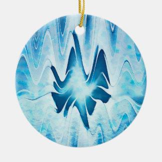 Glacial Lake Christmas Ornament