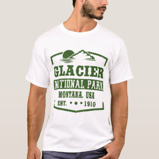 GLACIER NATIONAL PARK MONTANA T-Shirt