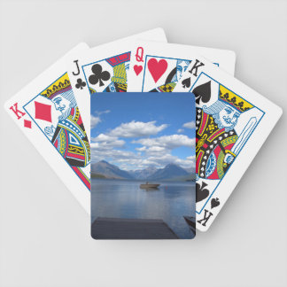 Glacier National Park photography. Bicycle Playing Cards