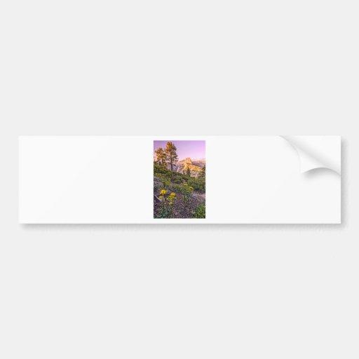 Glacier Point Sunset (Vertical) Bumper Sticker