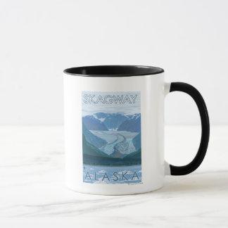 Glacier Scene - Skagway, Alaska Mug