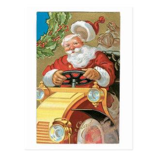 Glad Christmas Greetings Postcard