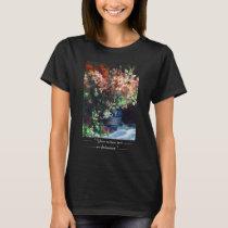 Gladioli in a Vase Pierre Auguste Renoir painting T-Shirt