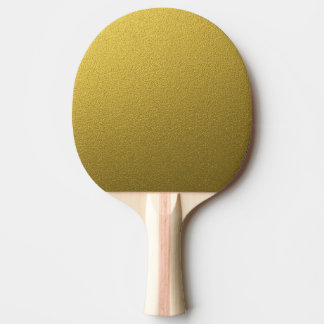 Glam Gold Glitter Ping Pong Paddle