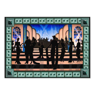 """Glam Party 5"""" X 7"""" Invitation Card"""