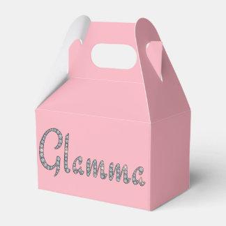 Glamma bling favor box
