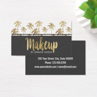 Palm tree business cards gallery business card template 37 gold palm tree business cards and gold palm tree business card glamorous gold tropical palm colourmoves